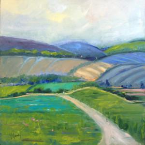Deborah Harold contemporary landscape painting