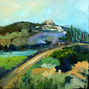 Deborah Harold, contemporary landscape painting
