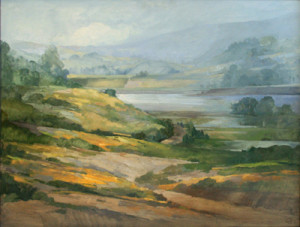 Liv Saether traditional landscape painting