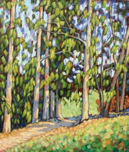 John Sawyer landscape oil painting