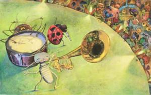 Johnson & Fancher children's book illustration