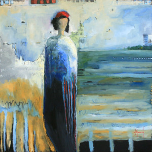 Deborah Harold contemporary figurative, oil painting