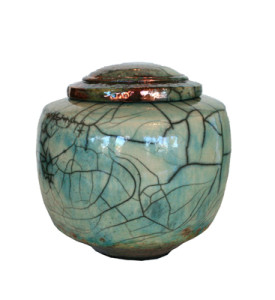 Dale Ferguson ceramic lidded jar