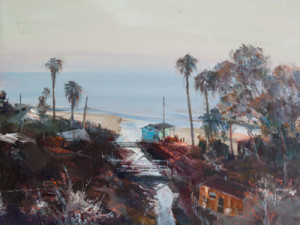 April Raber local art, southern California landscape