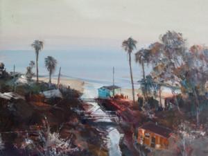 April Raber local art, southern California landscape