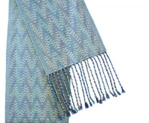 Susan Horton woven scarf