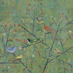Diana Stetson mixed media painting