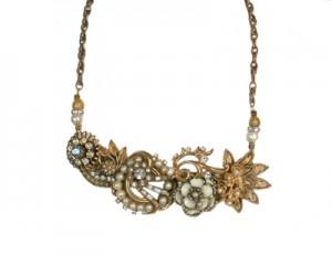 Carolyn Van Hosen jewelry, vintage assemblage jewelry
