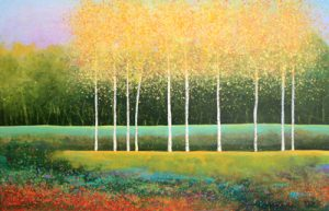 Melissa Graves Brown contemporary oil painting