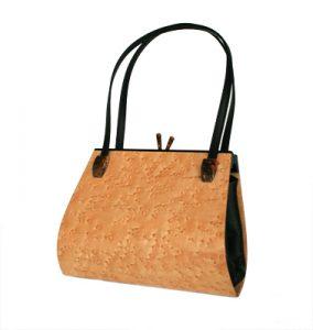 Hammill & Diebolt wooden handbags