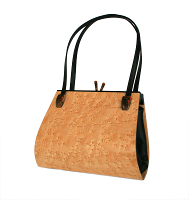 wooden purse, hammill and diebolt