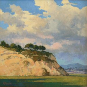 Paul Kratter California plein air oil painting