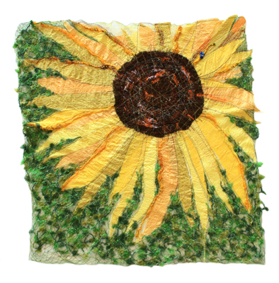 mary hammond textile, hand sewen textile, wall hanging, tapestry