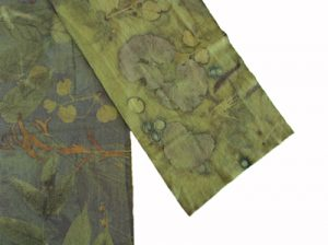 Georg Palmer dyed wool scarf eco dye natural dye