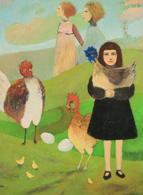 Shannon Richardson contemporary figurative oil painting