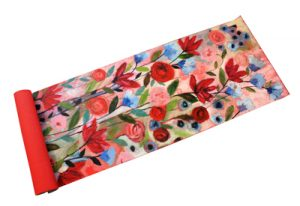 Carrie Schmitt hand painted yoga mat