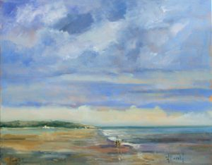 Deborah Harold contemporary seascape oil painting