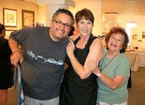 Chemers Gallery staff Marcus, Shirley and Rita