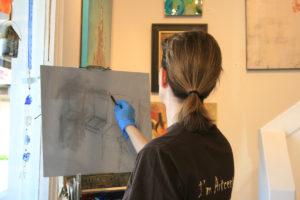 Kim VanDerHoek oil painter