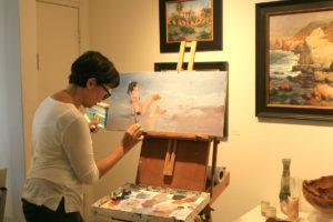 Elaine Hughes oil painter
