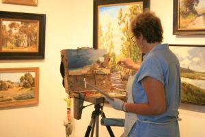 Janine Salzman oil painter