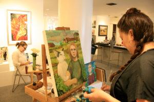 Shannon Richardson oil painter, Maria Counts ceramics