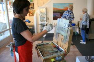 Dana Cooper oil painter