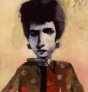 Stacy Innerst illustration, Bob Dylan