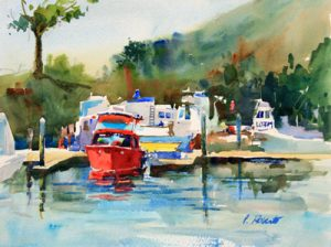 Pete Roberts contemporary watercolor