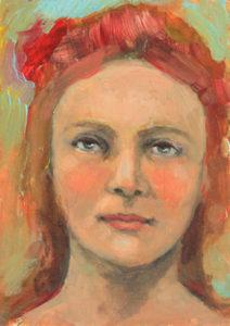 Shannon Richardson contemporary portrait oil painting