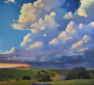 Gerald Schwartz contemporary landscape oil painting