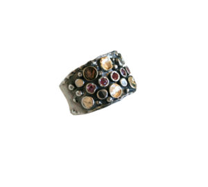 Ithil Metal Works contemporary silver rings