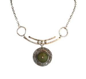 Joanna Craft contemporary silver stone jewelry