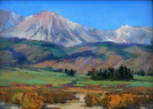 Steve Kell plein air landscape painting
