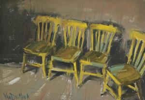 Kim VanDerHoek contemporary still life oil painting
