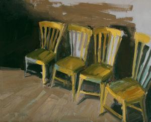 Kim VanDerHoek contemporary oil painting