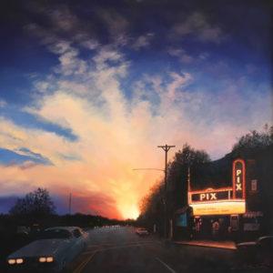 Gerald Schwartz oil painting