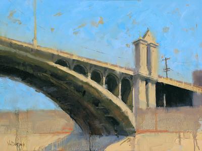 Kim VanDerHoek oil painting
