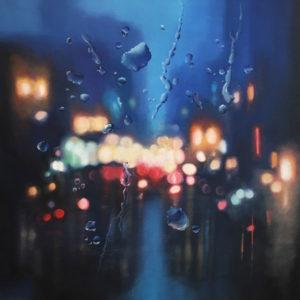 Gerald Schwartz contemporary photo-realism oil painting