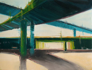 Kim VanDerHoek contemporary abstract painting