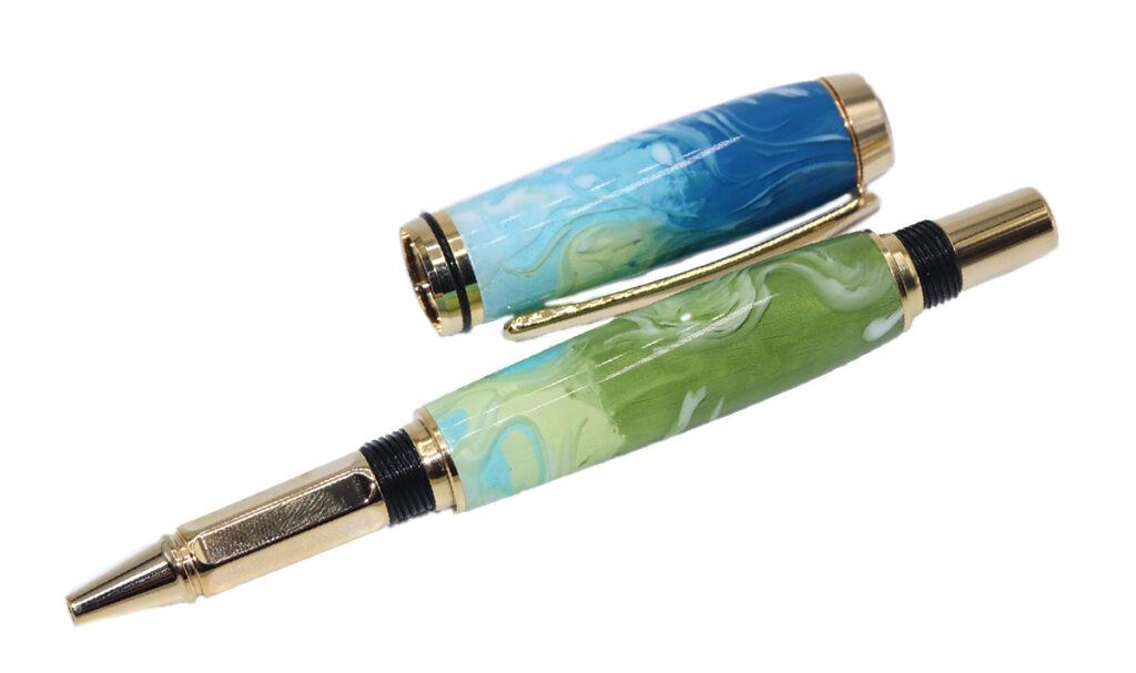 Tom Borusky Handmade pens